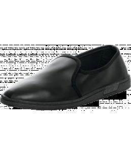 Туфли искуственная кожа черные