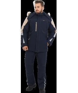Куртка утепленная ХАЙ-ТЕК синяя