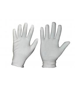 Перчатки нейлон, белый, 15 кл