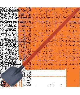 Лопата пожарника совковая