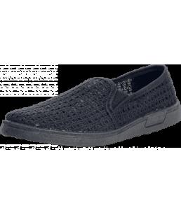 Туфли сетка черные