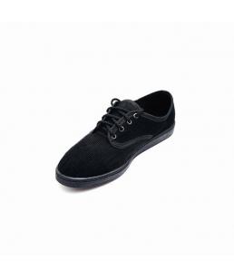 Туфли вельвет на шнуровке