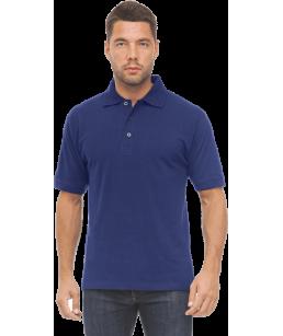 Рубашка ПОЛО тёмно-синяя