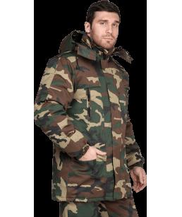 Куртка Турист утепленная КМФ