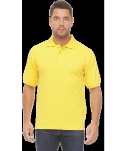 Рубашка ПОЛО жёлтая